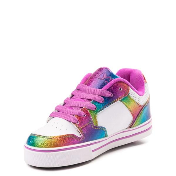 alternate image alternate view Heelys Motion Rainbow Skate Shoe - Little Kid / Big Kid - White / RainbowALT3