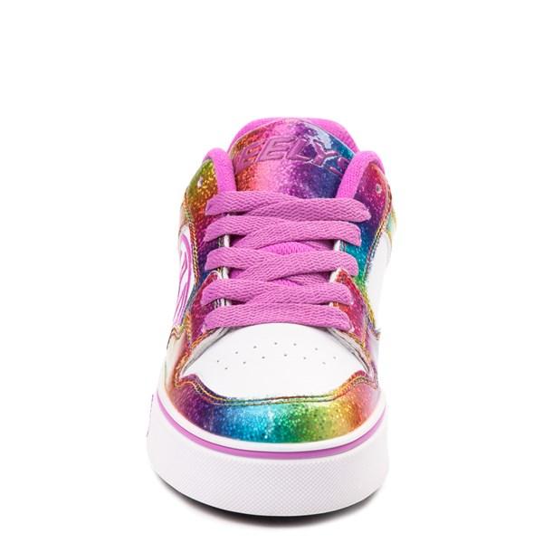 alternate image alternate view Heelys Motion Rainbow Skate Shoe - Little Kid / Big Kid - White / RainbowALT4