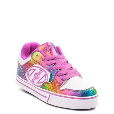 Alternate view of Heelys Motion Rainbow Skate Shoe - Little Kid / Big Kid - White / Rainbow