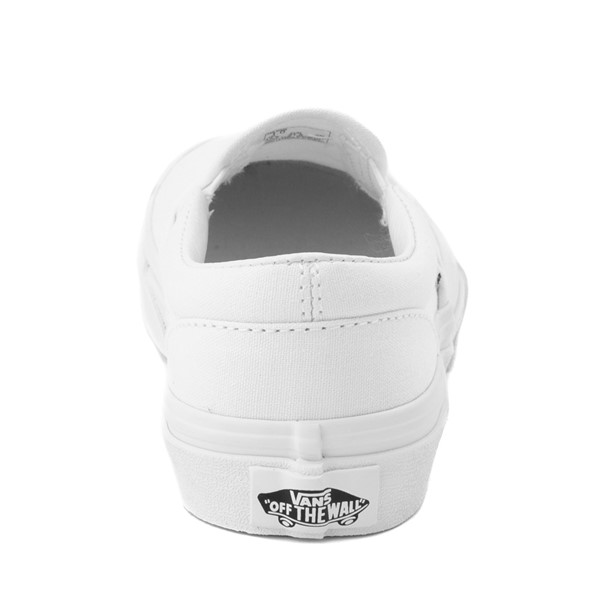 alternate image alternate view Vans Slip On Skate Shoe - Little Kid / Big Kid - WhiteALT4