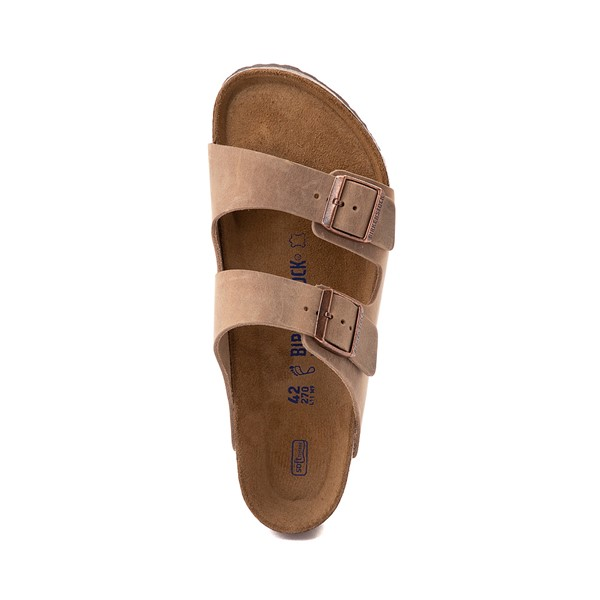 alternate image alternate view Mens Birkenstock Arizona Soft Footbed Sandal - TobaccoALT2