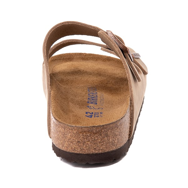 alternate image alternate view Mens Birkenstock Arizona Soft Footbed Sandal - TobaccoALT4