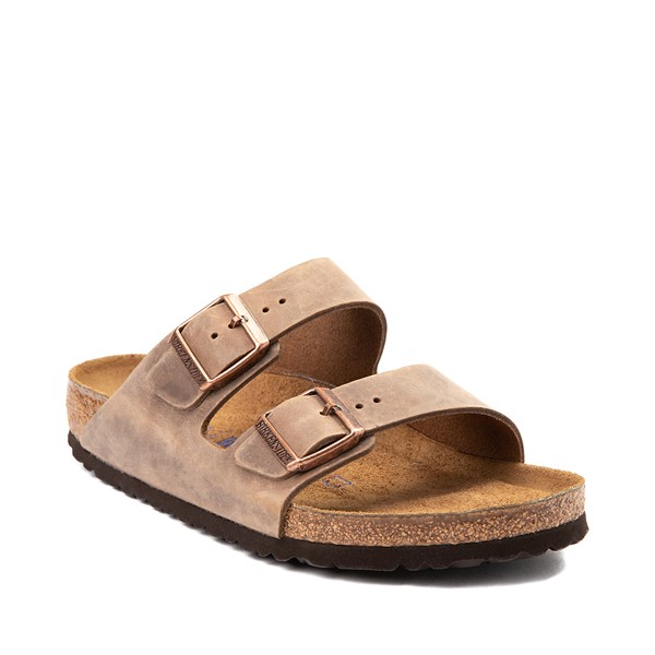 alternate image alternate view Mens Birkenstock Arizona Soft Footbed Sandal - TobaccoALT5