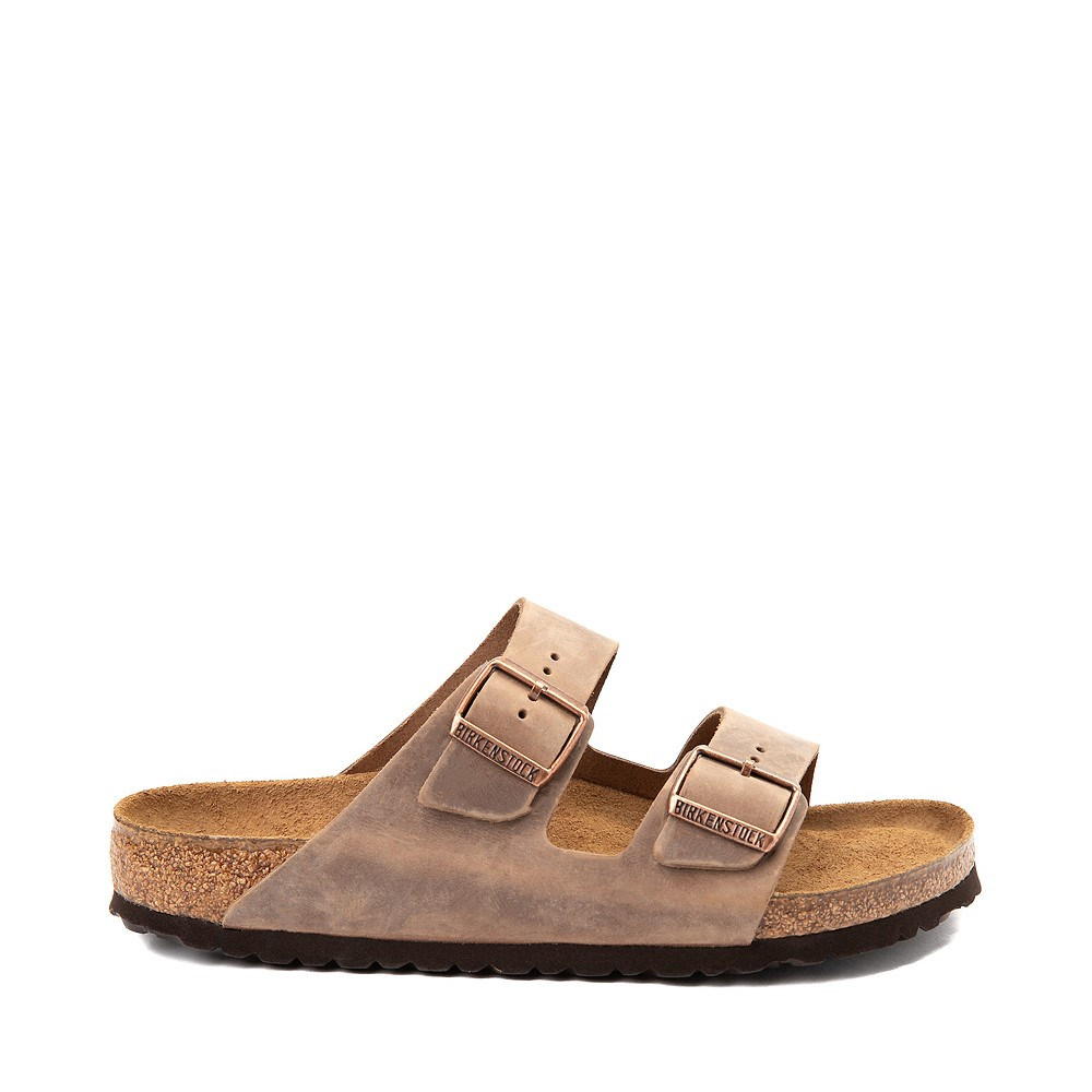 Mens Birkenstock Arizona Soft Footbed Sandal - Tobacco