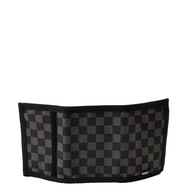 alternate image alternate view Vans Slipped Tri-Fold Checkerboard Wallet - Black / GreyALT2