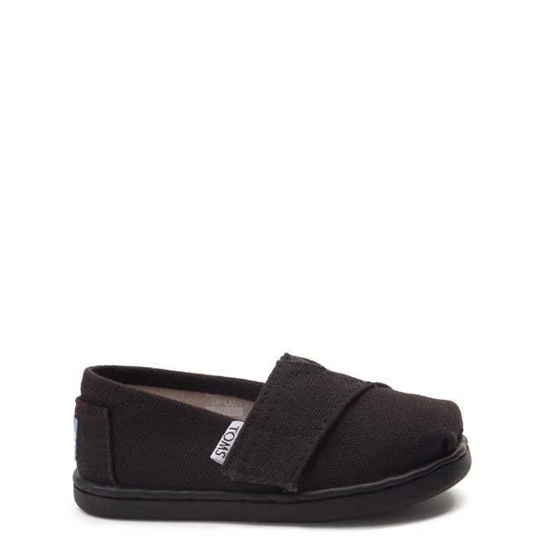 Main view of TOMS Classic Slip On Casual Shoe - Baby / Toddler / Little Kid - Black