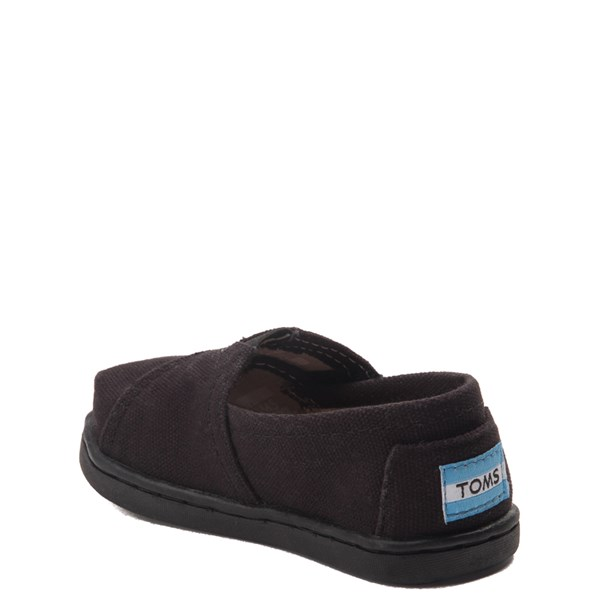 alternate image alternate view TOMS Classic Slip On Casual Shoe - Baby / Toddler / Little Kid - BlackALT2