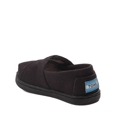 Alternate view of TOMS Classic Slip On Casual Shoe - Baby / Toddler / Little Kid - Black