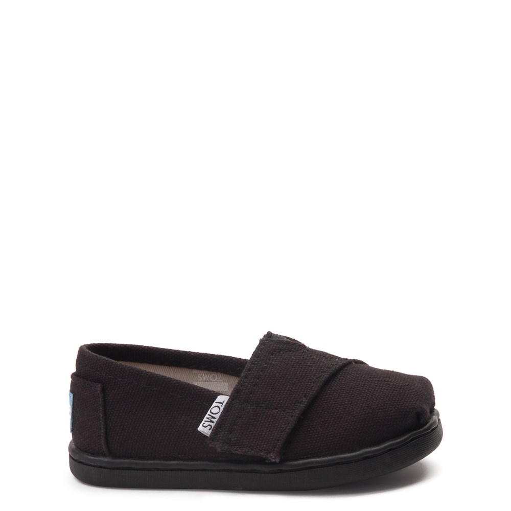 TOMS Classic Slip On Casual Shoe - Baby / Toddler / Little Kid - Black