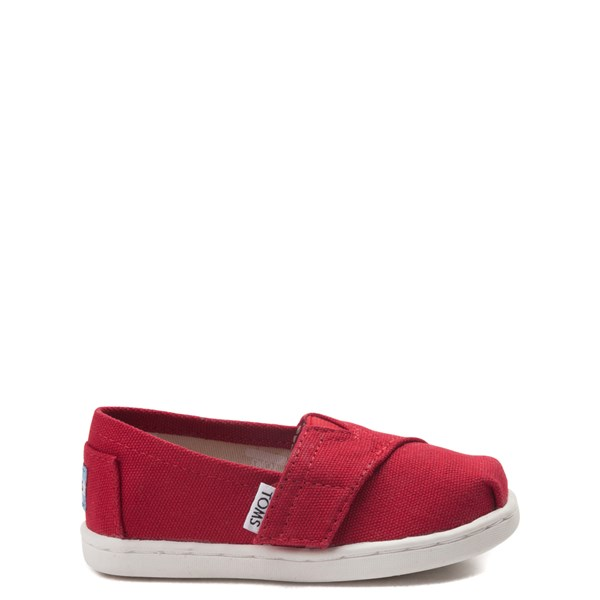 TOMS Classic Slip On Casual Shoe - Baby / Toddler / Little Kid - Red