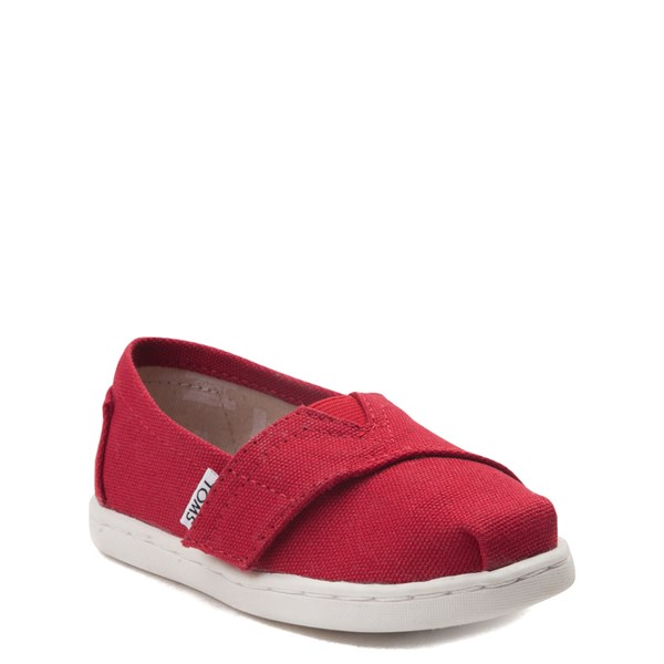 alternate image alternate view TOMS Classic Slip On Casual Shoe - Baby / Toddler / Little KidALT1