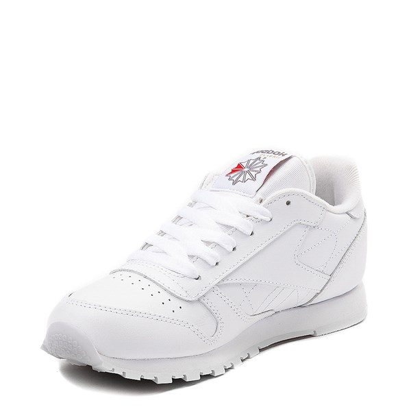 alternate image alternate view Womens Reebok Classic Athletic Shoe - WhiteALT3