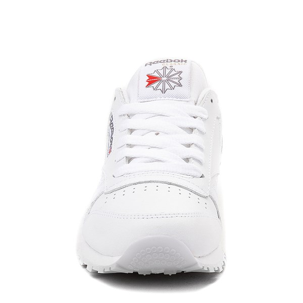 alternate image alternate view Womens Reebok Classic Athletic Shoe - WhiteALT4