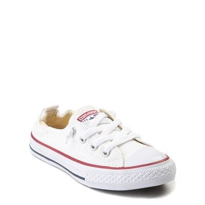 Alternate view of Converse Chuck Taylor Shoreline Sneaker - Little Kid - White