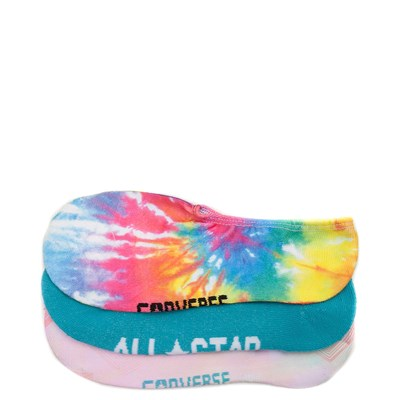 Main view of Womens Converse Tie Dye Blurred Liners 3 Pack
