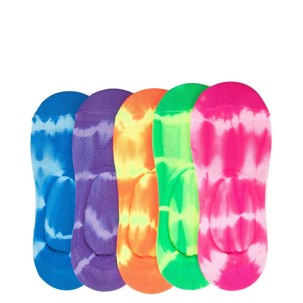 Womens Mesh Tie Dye Liners 5 Pack