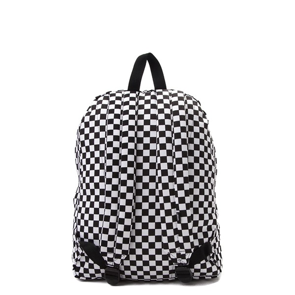 alternate image alternate view Vans Old Skool Checkerboard Backpack - Black / WhiteALT2