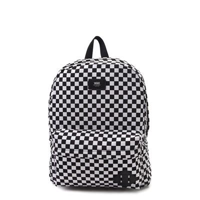 Main view of Vans Old Skool Checkerboard Backpack - Black / White