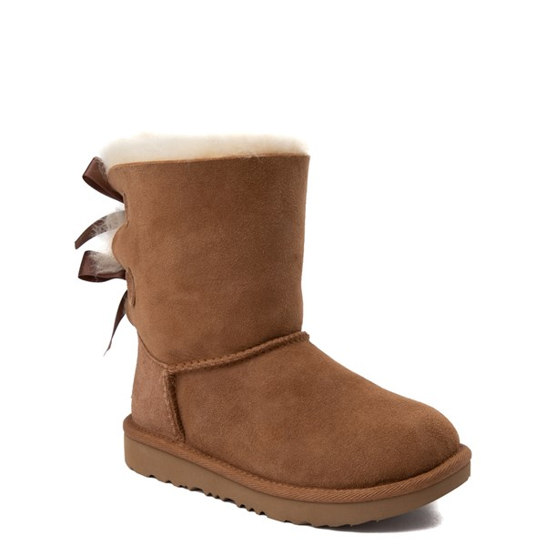 alternate image alternate view UGG® Bailey Bow II Boot - Little Kid / Big Kid - ChestnutALT1