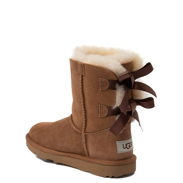 alternate image alternate view UGG® Bailey Bow II Boot - Little Kid / Big Kid - ChestnutALT2