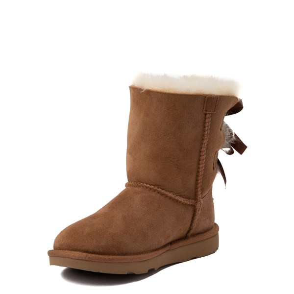 alternate image alternate view UGG® Bailey Bow II Boot - Little Kid / Big Kid - ChestnutALT3