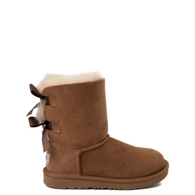 Main view of UGG® Bailey Bow II Boot - Little Kid / Big Kid - Chestnut