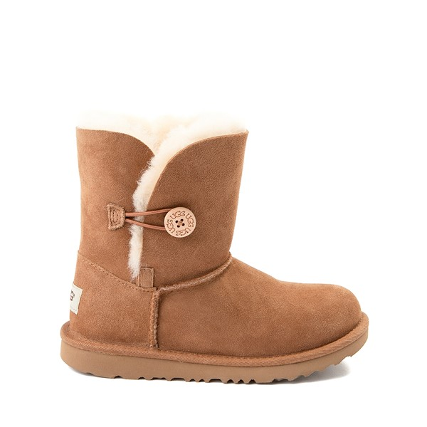UGG® Bailey Button II Boot - Little Kid / Big Kid - Chestnut