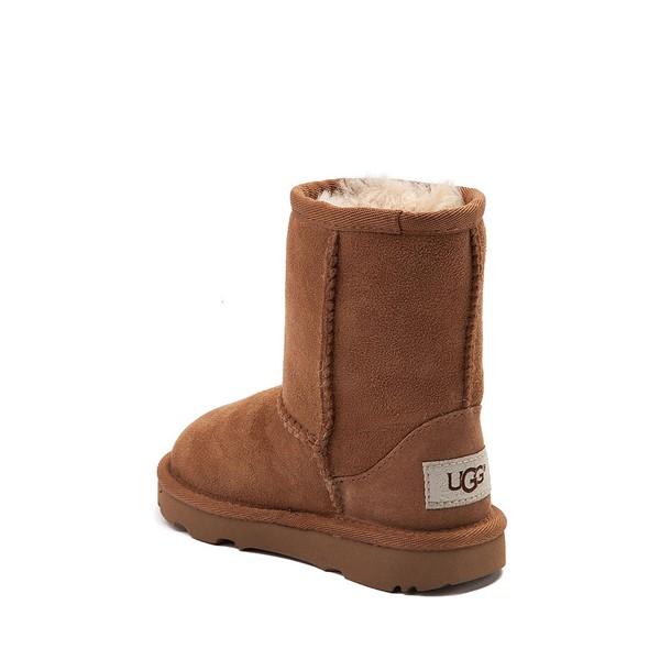 alternate view UGG® Classic Short II Boot - Toddler / Little Kid - ChestnutALT1