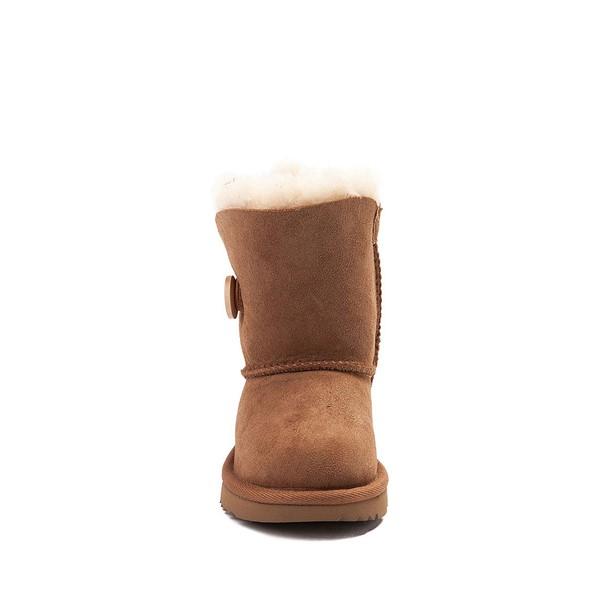 alternate view UGG® Bailey Button II Boot - Toddler / Little Kid - ChestnutALT4