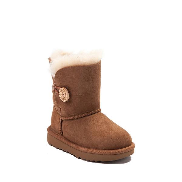 alternate view UGG® Bailey Button II Boot - Toddler / Little Kid - ChestnutALT5