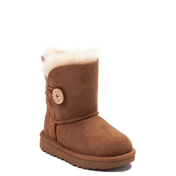 alternate image alternate view UGG® Bailey Button II Boot - Toddler / Little Kid - ChestnutALT1