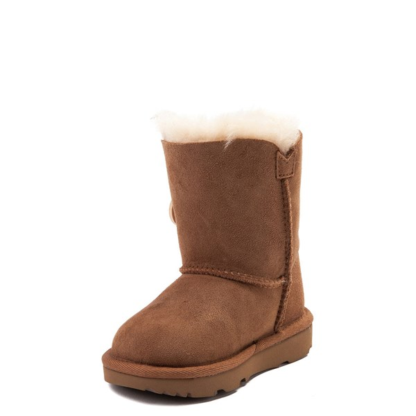 alternate image alternate view UGG® Bailey Button II Boot - Toddler / Little Kid - ChestnutALT3
