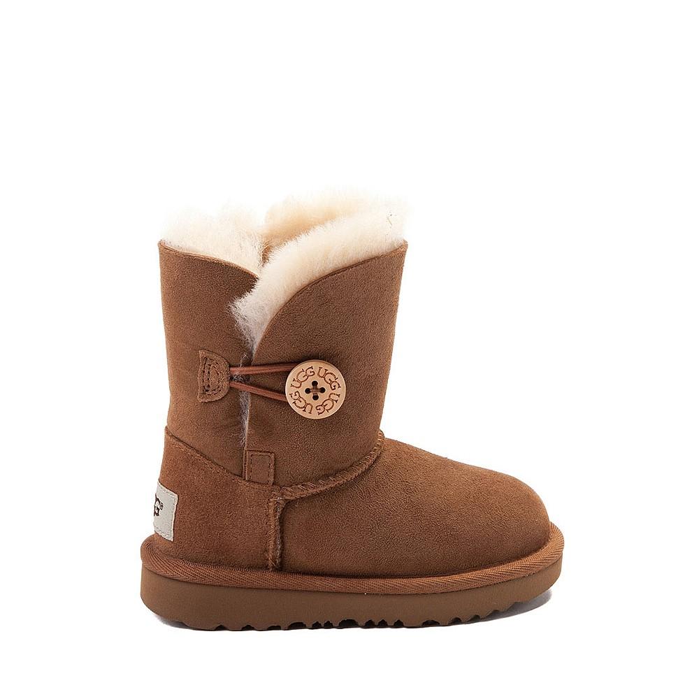 UGG® Bailey Button II Boot - Toddler / Little Kid - Chestnut