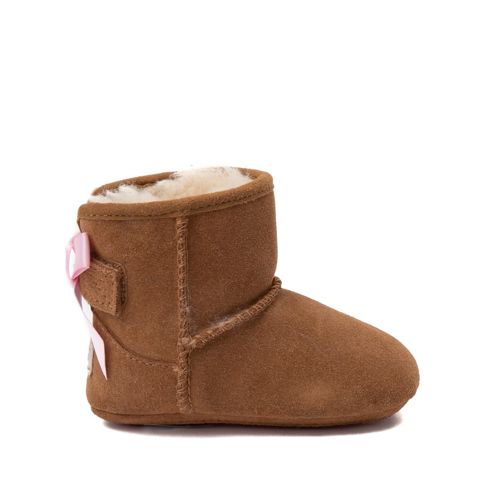 UGG® Jesse Bow II Boot - Baby / Toddler - Chestnut