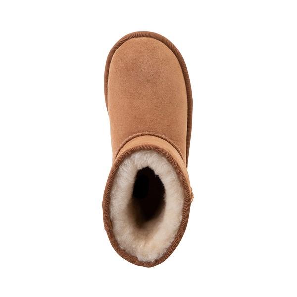 alternate view UGG® Classic Short II Boot - Little Kid / Big Kid - ChestnutALT2