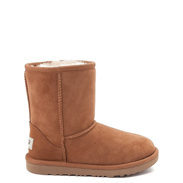 Main view of UGG® Classic Short II Boot - Little Kid / Big Kid - Chestnut