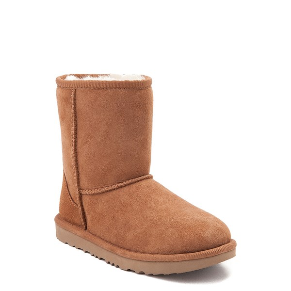 alternate image alternate view UGG® Classic Short II Boot - Little Kid / Big Kid - ChestnutALT1