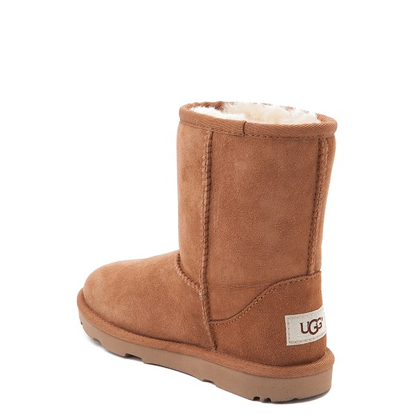 alternate image alternate view UGG® Classic Short II Boot - Little Kid / Big Kid - ChestnutALT2