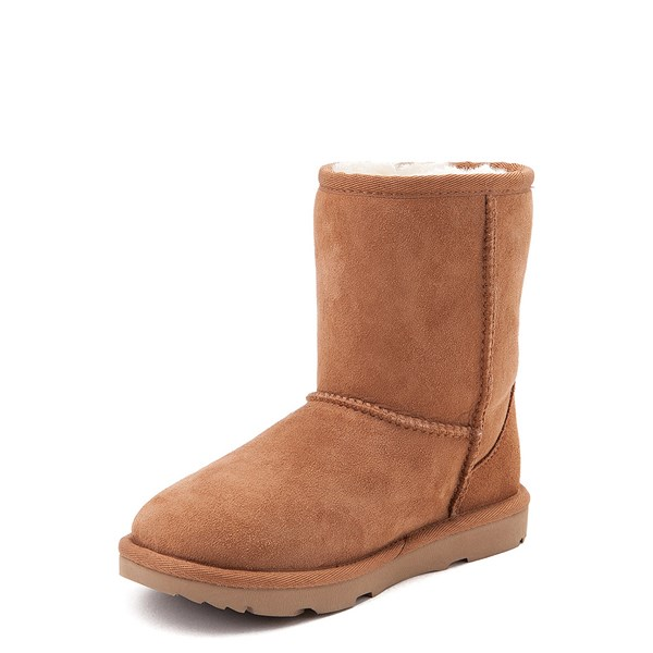 alternate image alternate view UGG® Classic Short II Boot - Little Kid / Big Kid - ChestnutALT3