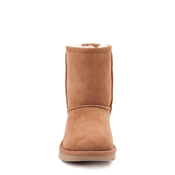 alternate image alternate view UGG® Classic Short II Boot - Little Kid / Big Kid - ChestnutALT4