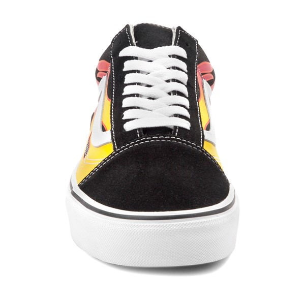 alternate image alternate view Vans Old Skool Flames Skate Shoe - BlackALT4