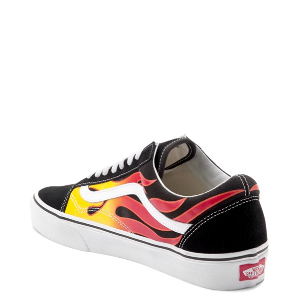 alternate image alternate view Vans Old Skool Flames Skate ShoeALT2