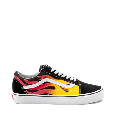 Main view of Vans Old Skool Flames Skate Shoe