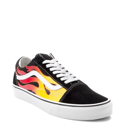 Alternate view of Vans Old Skool Flames Skate Shoe