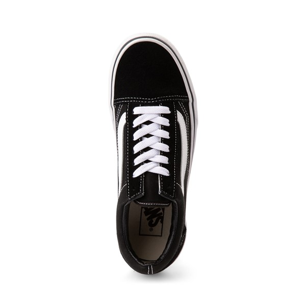 alternate image alternate view Vans Old Skool Platform Skate Shoe - Black / WhiteALT2