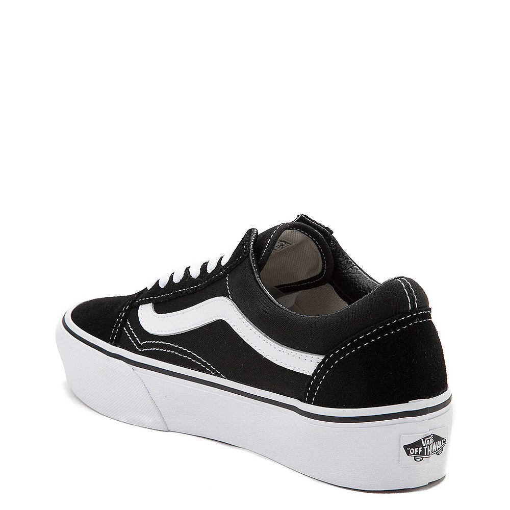 6b9f17e3 Vans Old Skool Platform Skate Shoe