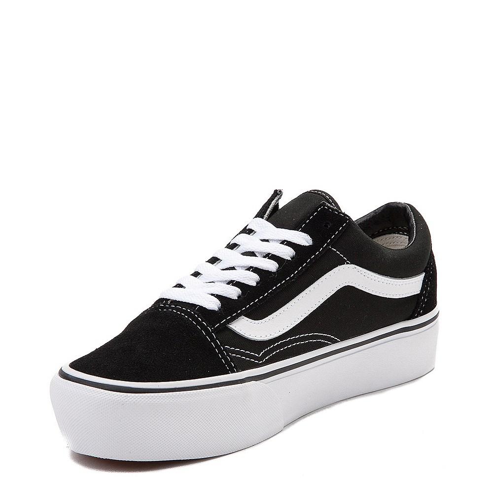 0e4d5be58b Vans Old Skool Platform Skate Shoe