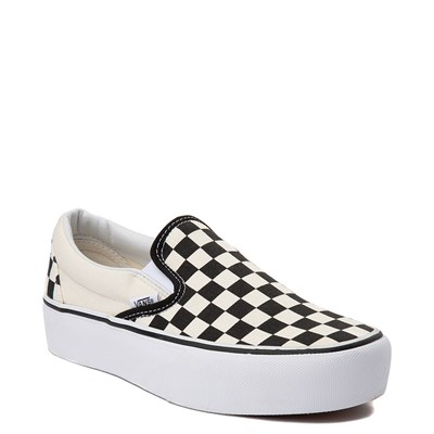 Alternate view of Vans Slip On Chex Platform Skate Shoe