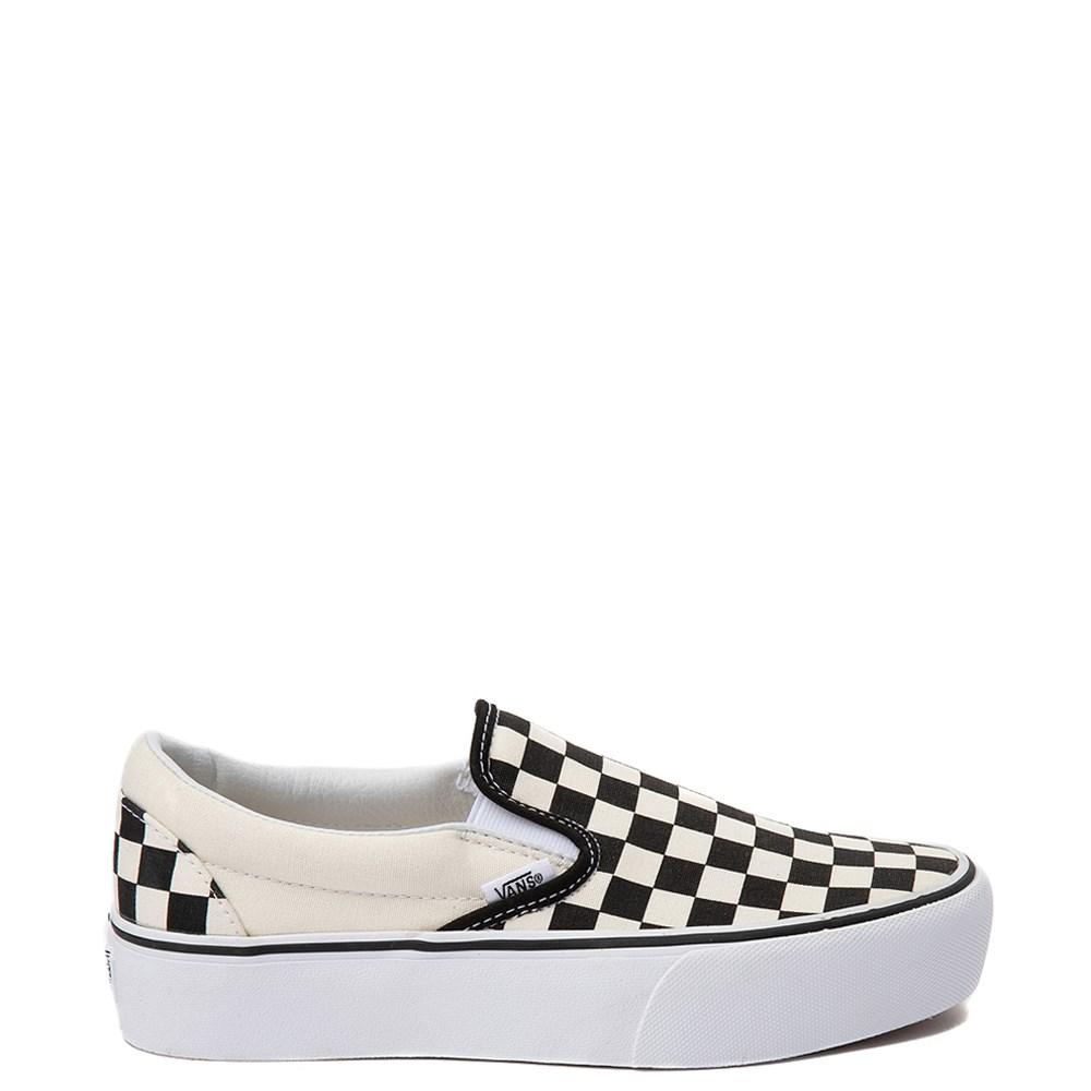 Vans Slip On Chex Platform Skate Shoe