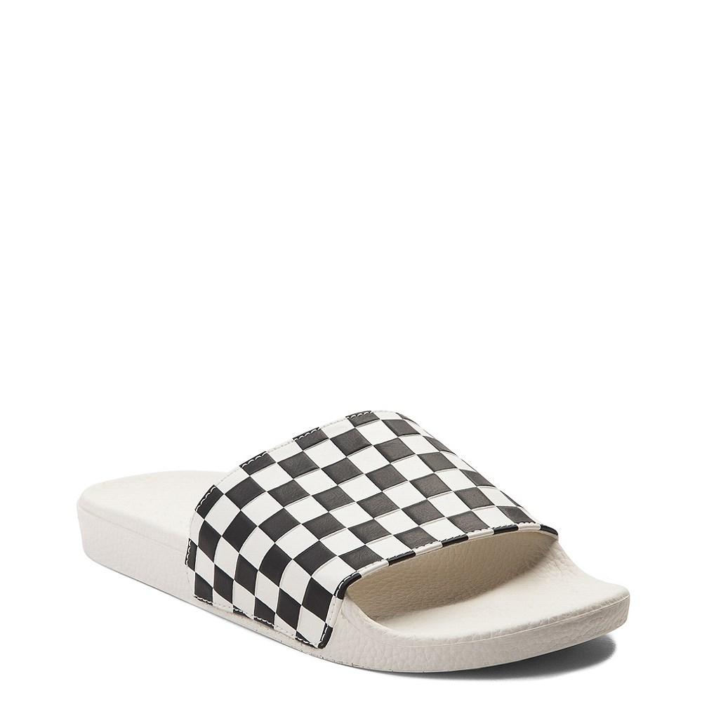 Womens Vans Slide On Checkerboard